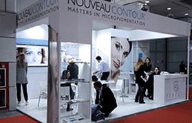 Nouveau Contour на выставке Cosmoprof в Болонье (Италия)