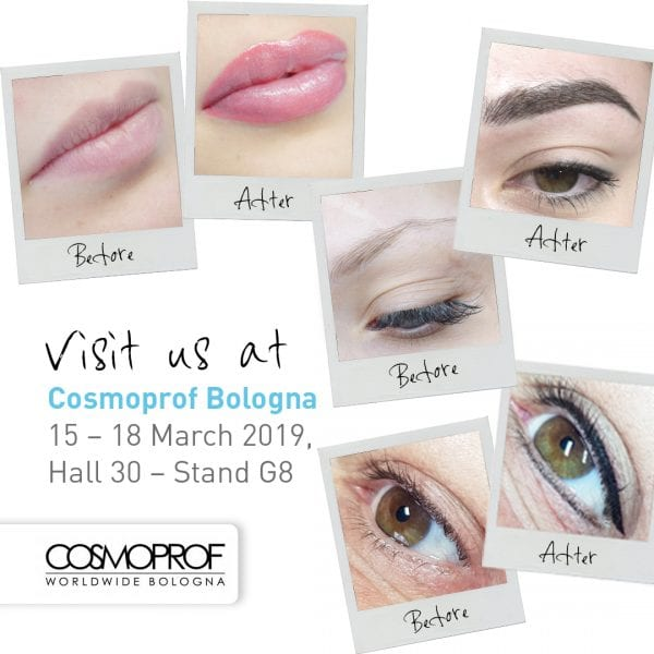 Visit us @ Cosmoprof Bologna (ITA)